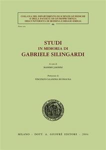 Libro Studi in memoria di Gabriele Silingardi