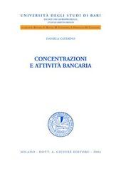 Concentrazioni e attività bancaria