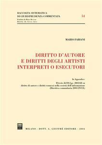 Diritto d'autore e diritti degli artisti interpreti o esecutori