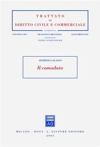 Libro Il comodato Alfredo Galasso