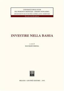 Investire nella Bahia - copertina