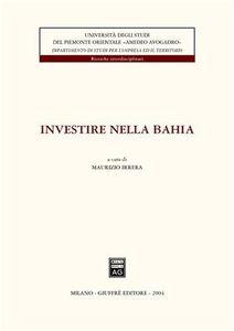 Libro Investire nella Bahia