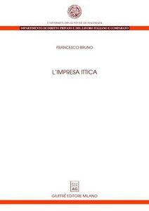 Libro L' impresa ittica Francesco Bruno