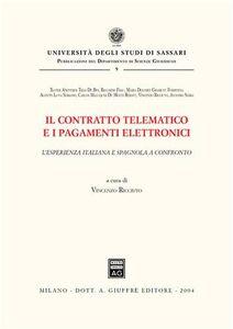 Foto Cover di Il contratto telematico e i pagamenti elettronici. L'esperienza italiana e spagnola a confronto, Libro di  edito da Giuffrè