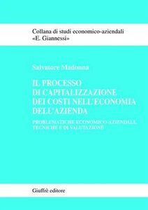 Libro Il processo di capitalizzazione dei costi nell'economia dell'azienda. Problematiche economico-aziendali, tecniche e di valutazione Salvatore Madonna