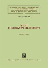 Le fonti di integrazione del contratto