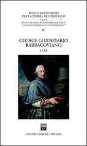 Codice giudiziario Barbacoviano (1788)