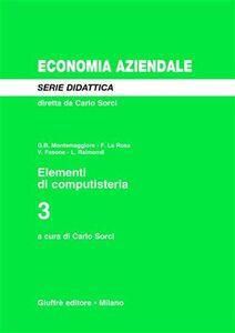 Libro Elementi di computisteria