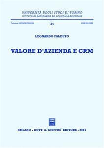 Libro Valore d'azienda e CRM Leonardo Falduto