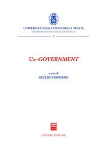 Libro L' e-government. Atti del Convegno (Viterbo, 4 dicembre 2003)