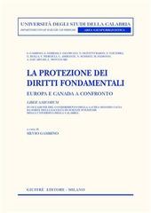 La protezione dei diritti fondamentali. Europa e Canada a confronto