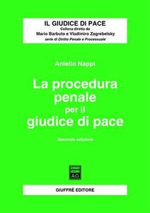 La procedura penale per il giudice di pace