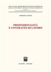 Professionalità e contratto di lavoro