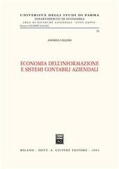 Economia dell'informazione e sistemi contabili aziendali