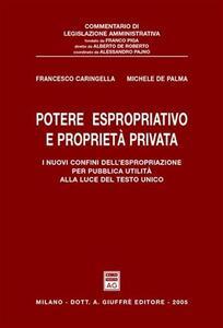 Potere espropriativo e proprietà privata. I nuovi confini dell'espropriazione per pubblica utilità alla luce del Testo Unico