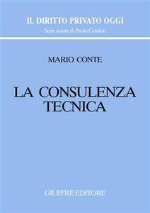 La consulenza tecnica - Mario Conte - copertina