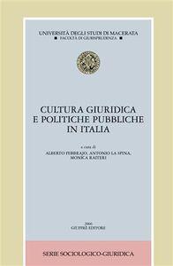 Libro Cultura giuridica e politiche pubbliche in Italia