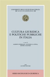 Cultura giuridica e politiche pubbliche in Italia