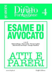 Libro Esame di avvocato. Atti e pareri. Vol. 4
