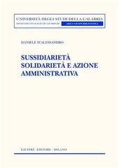 Sussidiarietà solidarietà e azione amministrativa