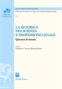 La retorica fra scienza e professione legale
