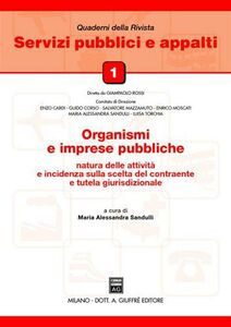 Foto Cover di Organismi e imprese pubbliche, Libro di  edito da Giuffrè
