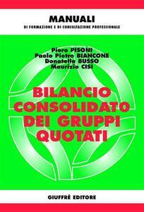 Bilancio consolidato dei gruppi quotati