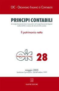 Foto Cover di Principi contabili. Vol. 28: Il patrimonio netto., Libro di  edito da Giuffrè