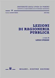 Foto Cover di Lezioni di ragioneria pubblica, Libro di  edito da Giuffrè