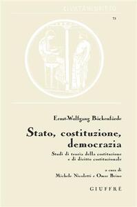 Stato, Costituzione, democrazia