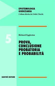 Daddyswing.es Prova, conclusione probatoria e probabilità Image