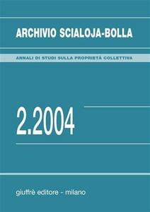 Libro Archivio Scialoja-Bolla (2004). Vol. 2