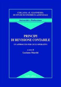 Foto Cover di Principi di revisione contabile. Un approccio per cicli operativi, Libro di  edito da Giuffrè