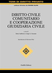 Libro Diritto civile comunitario e cooperazione giudiziaria civile
