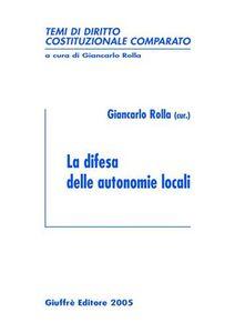 Libro La difesa delle autonomie locali