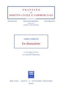 Libro La donazione Andrea Torrente