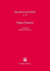 Foto Cover di Open Source. Atti del Convegno (Foggia, 2-3 luglio 2004), Libro di  edito da Giuffrè