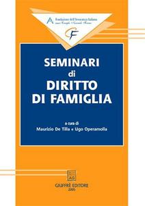 Libro Seminari di diritto di famiglia