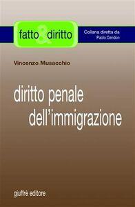 Foto Cover di Diritto penale dell'immigrazione, Libro di Vincenzo Musacchio, edito da Giuffrè