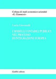 Libro I modelli contabili pubblici nel processo di integrazione europea Lucia Giovanelli
