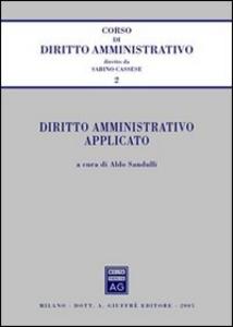 Libro Diritto amministrativo applicato