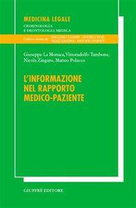 Libro L' informazione nel rapporto medico-paziente