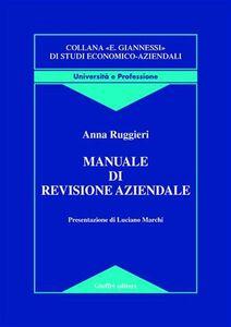 Libro Manuale di revisione aziendale Anna Ruggieri