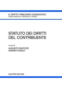 Foto Cover di Statuto dei diritti del contribuente, Libro di  edito da Giuffrè