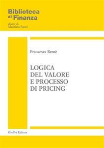 Logica del valore e processo di pricing
