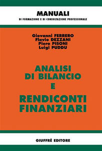 Foto Cover di Analisi di bilancio e rendiconti finanziari, Libro di  edito da Giuffrè