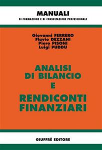 Libro Analisi di bilancio e rendiconti finanziari