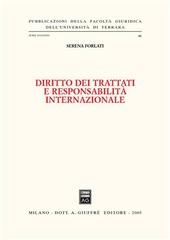 Diritto dei trattati e responsabilità internazionale