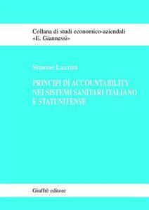 Principi di accountability nei sistemi sanitari italiano e statunitense