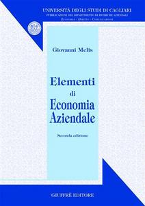 Libro Elementi di economia aziendale Giovanni Melis